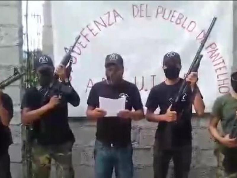 Grupo de autodefensa se adjudicó enfrentamiento en Pantelhó
