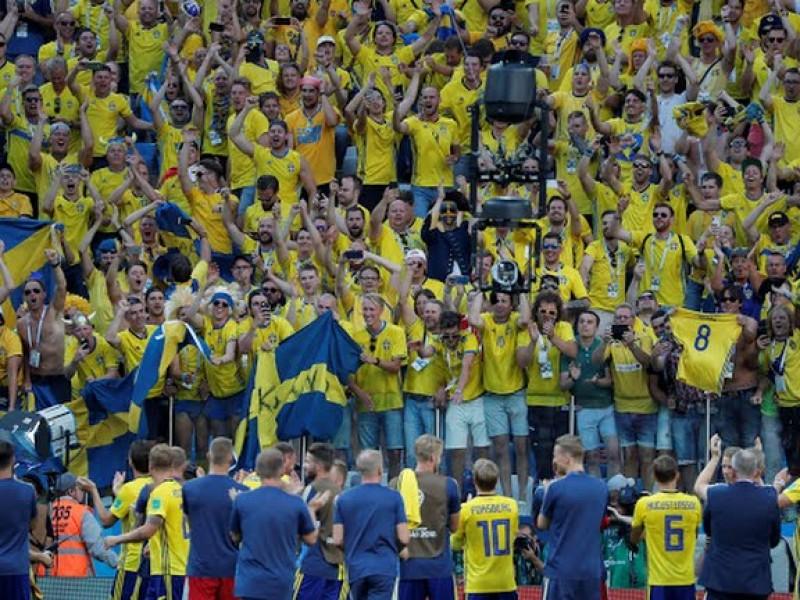 Suecia vence a Corea del Sur