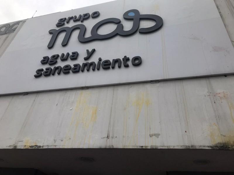 Grupo Mas condena actos vandálicos en sus instalaciones