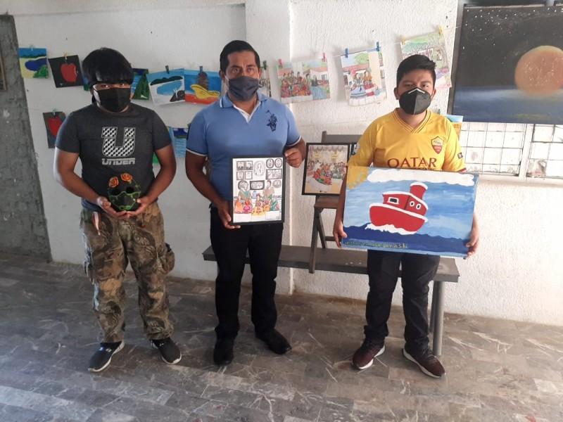 Grupo Sembrando Arte finaliza 2020 con exposición de obras