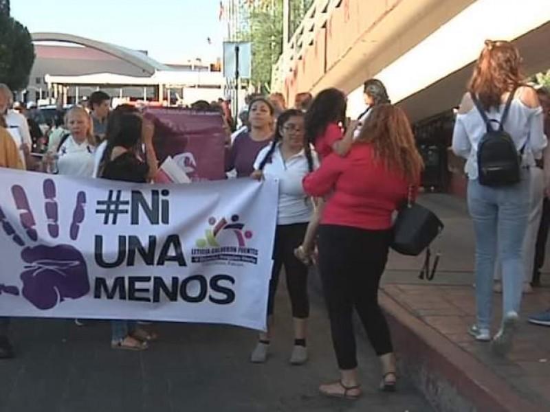 Grupos feministas preparan marcha por día de la mujer