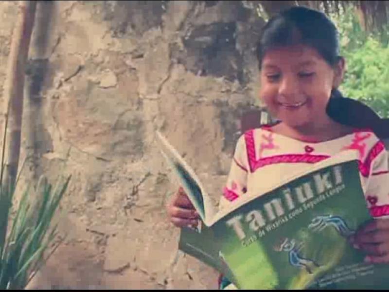 Grupos indígenas buscan perpetuar la lengua wirárika