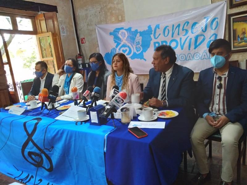 Grupos Provida acudirán a instancias internacionales ante resolutivo del SCJN