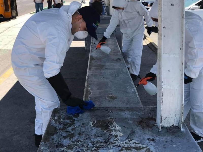 Grupos voluntarios se unieron para la limpieza de espacios públicos