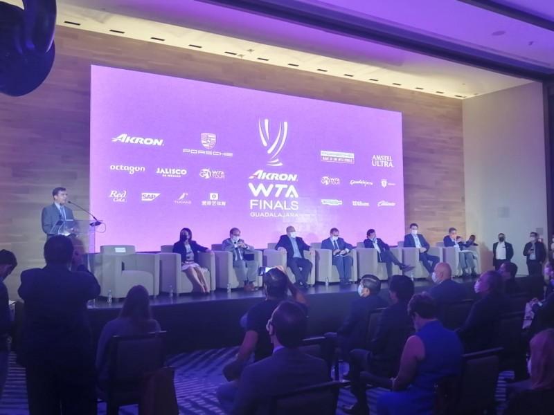 Guadalajara recibe el WTA Finals por única ocasión