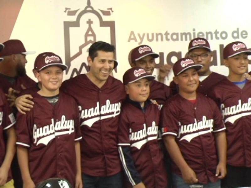 Guadalupenses representarán a México en ligas infantiles