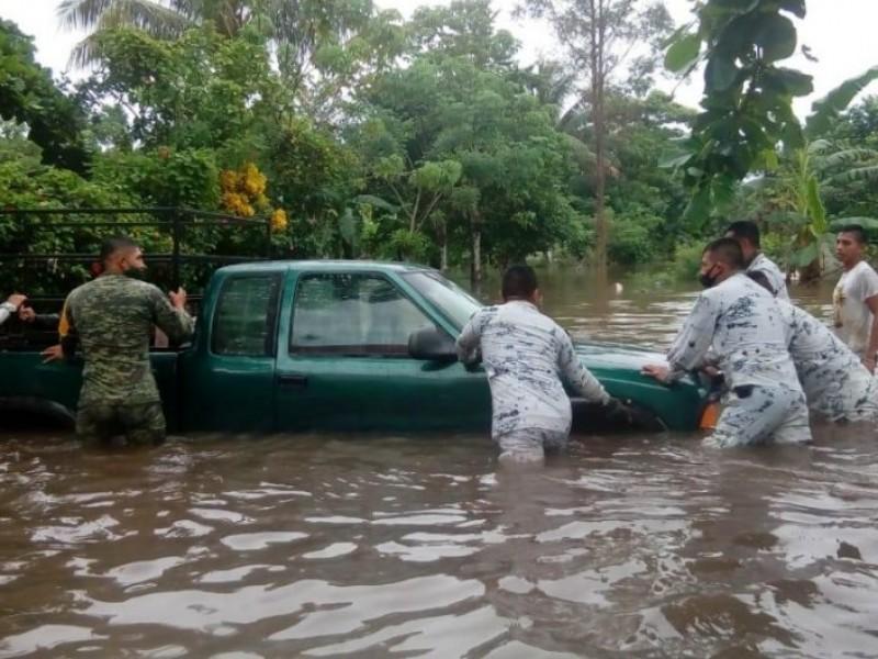 Guardia Nacional amplía acciones de auxilio en Tabasco