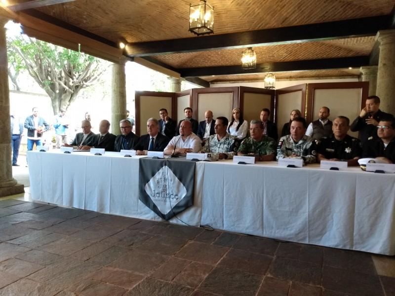 Guardia Nacional con mil 865 elementos en Jalisco