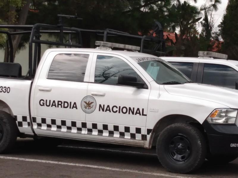 Guardia nacional dará resultados hasta 2022