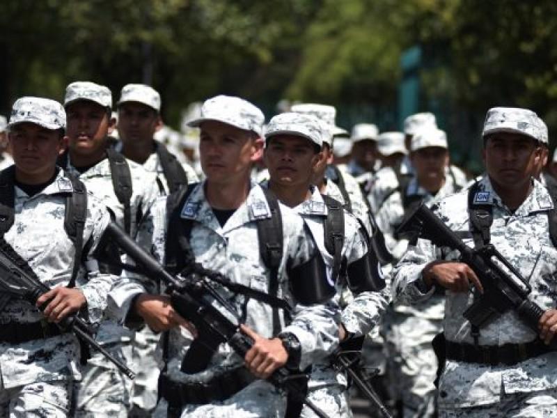 Guardia Nacional en Guanajuato