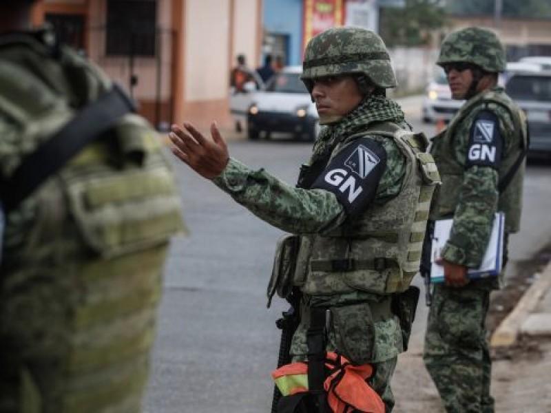 Guardia Nacional en Iztapalapa y GAM