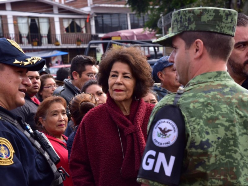 Guardia Nacional vigilará Tlalpan