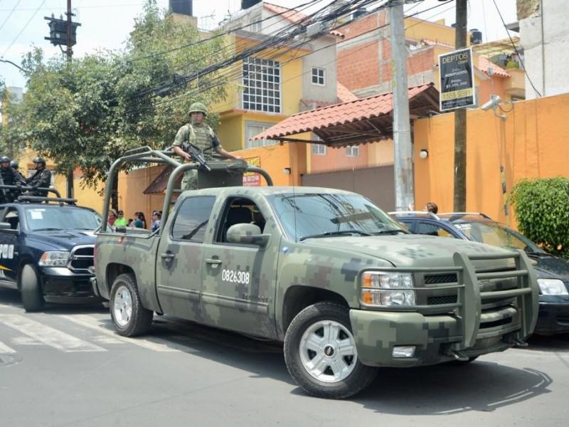 Guardia Nacional llega a Venustiano Carranza