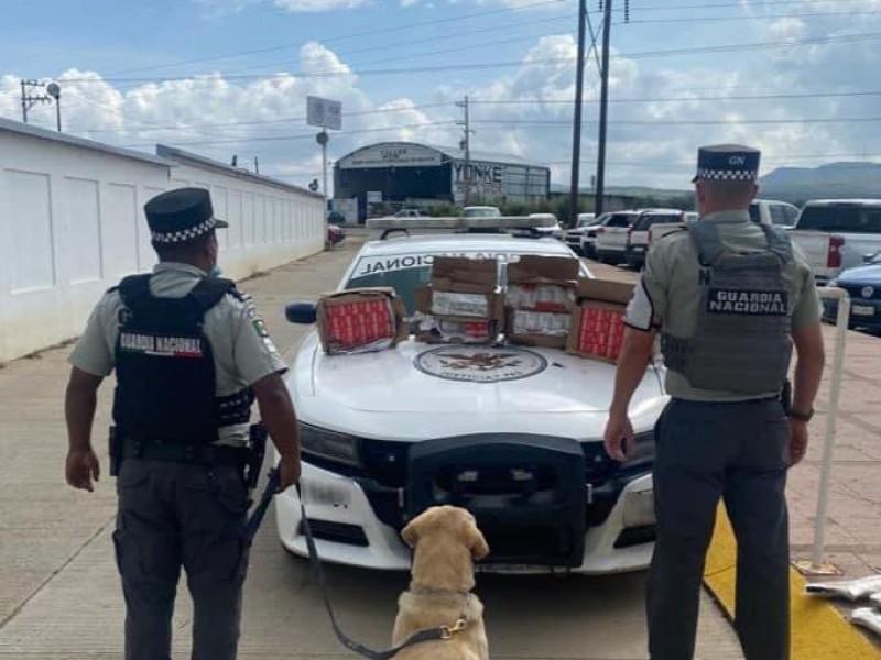 Guardia Nacional localiza fusiles y más de 6 mil cartuchos