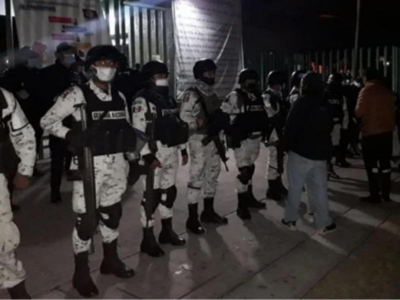 Guardia Nacional Resguarda Hospital Ecatepec tras agresión médicos