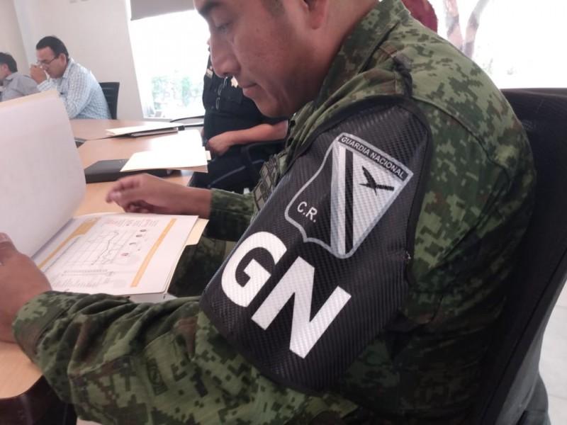 Guardia Nacional se integra a Mesa de Seguridad