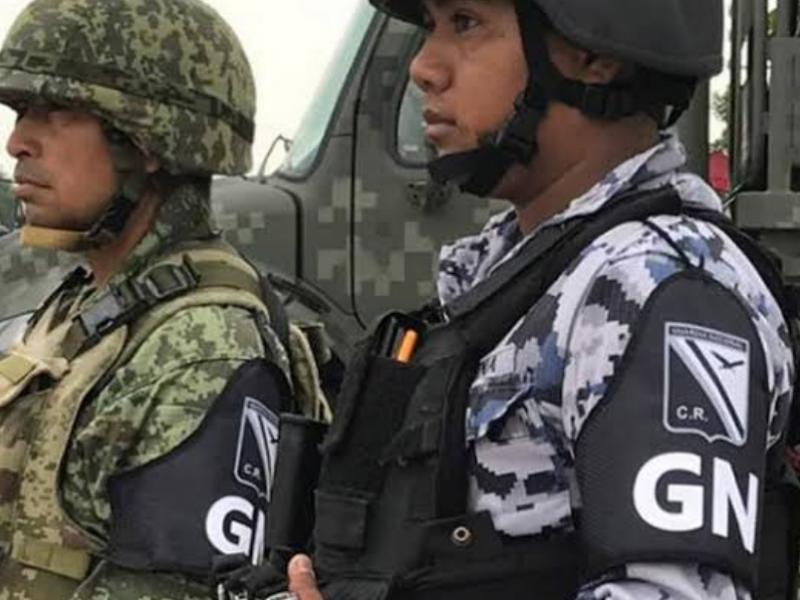Empieza a llegar la Guardia Nacional a Jalisco