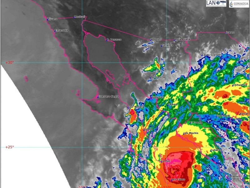 Guasave alerta por pronóstico de fuertes lluvias