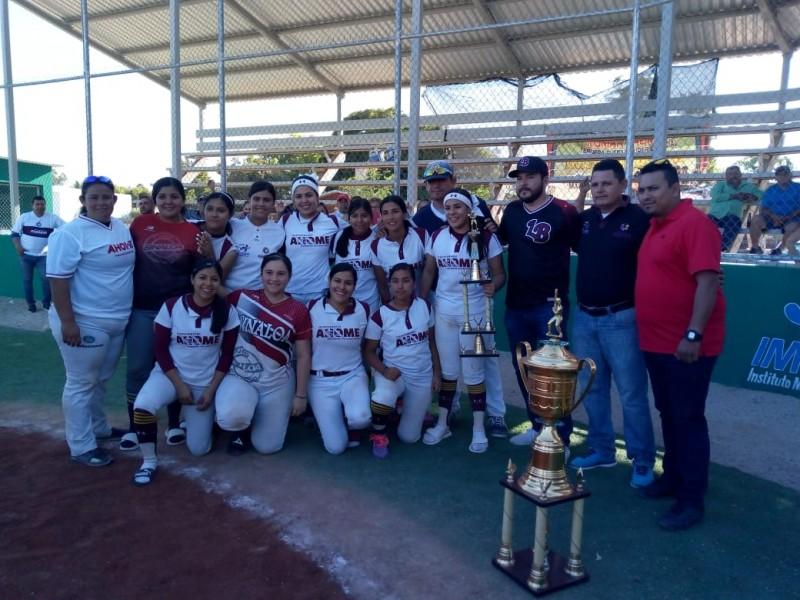 Guasave se corona en estatal de softbol