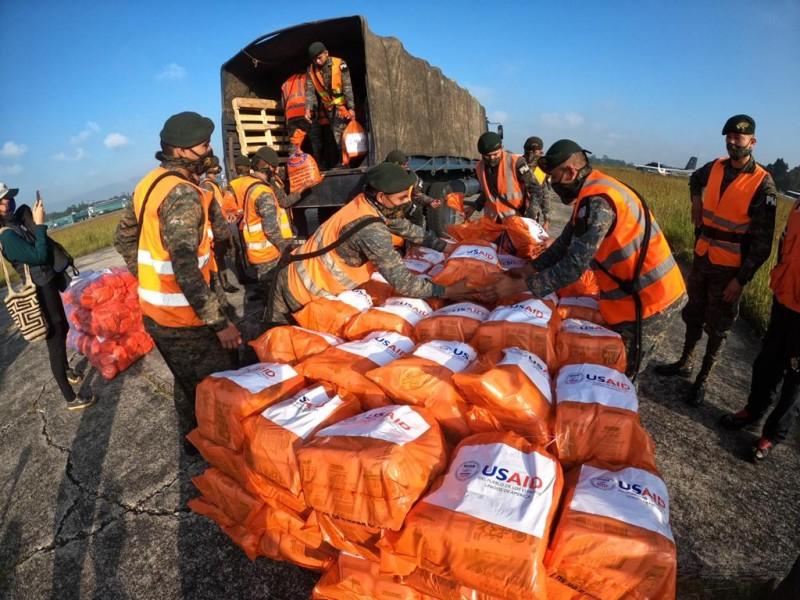 Guatemala pide ayuda internacional tras paso de