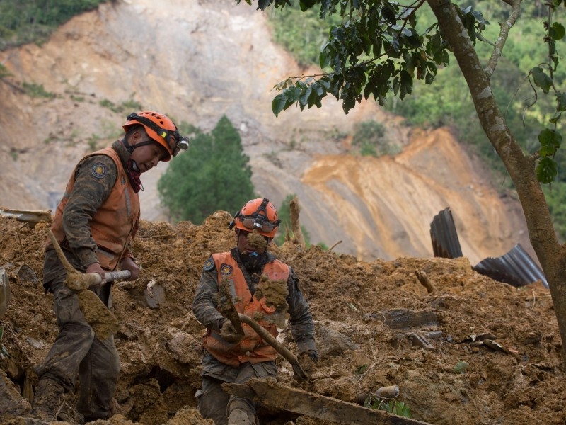 Guatemala suma 27 muertes y 103 desaparecidos por Eta