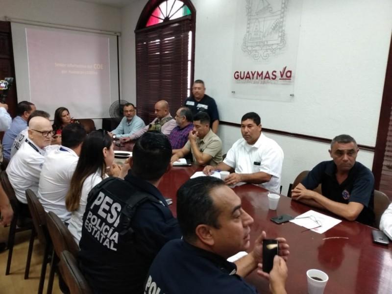 Guaymas-Empalme en alerta verde por