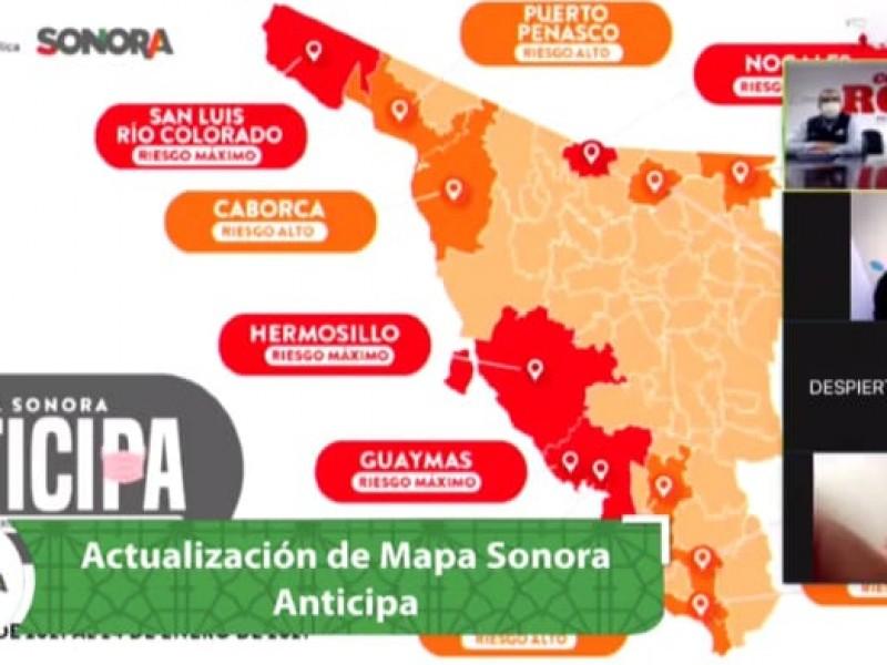Guaymas y Empalme entran a Código Rojo por covid-19