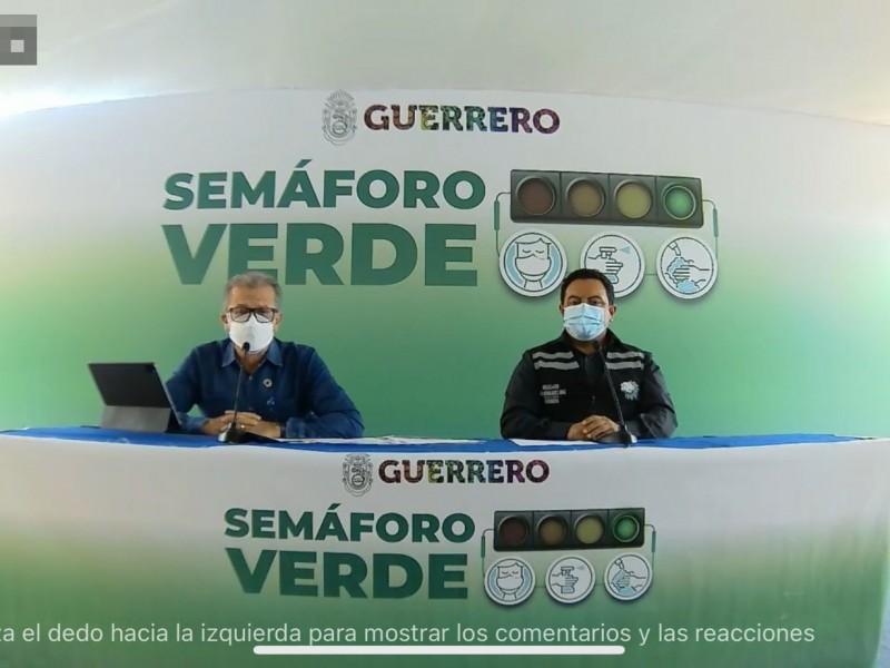 Guerrero continuará en semáforo verde hasta el 4 de julio