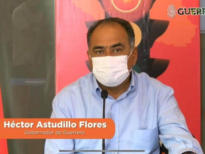 Guerrero permanecerá en semáforo naranja lo que resta de enero