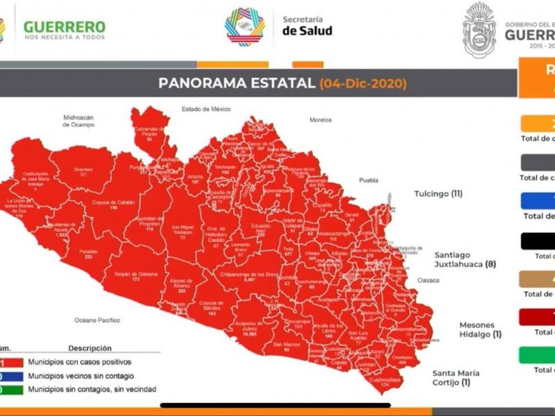 Guerrero rebasa los 24 mil contagios de coronavirus