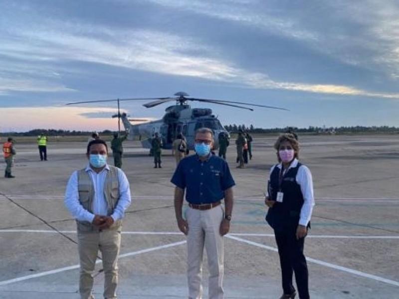 Guerrero recibe 110 mil 600 vacunas de AstraZeneca