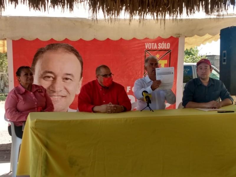 Guillermo Ruiz busca la alcaldía de Navojoa por el PT