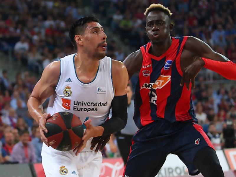 Gustavo Ayón campeón con Real Madrid de baloncesto
