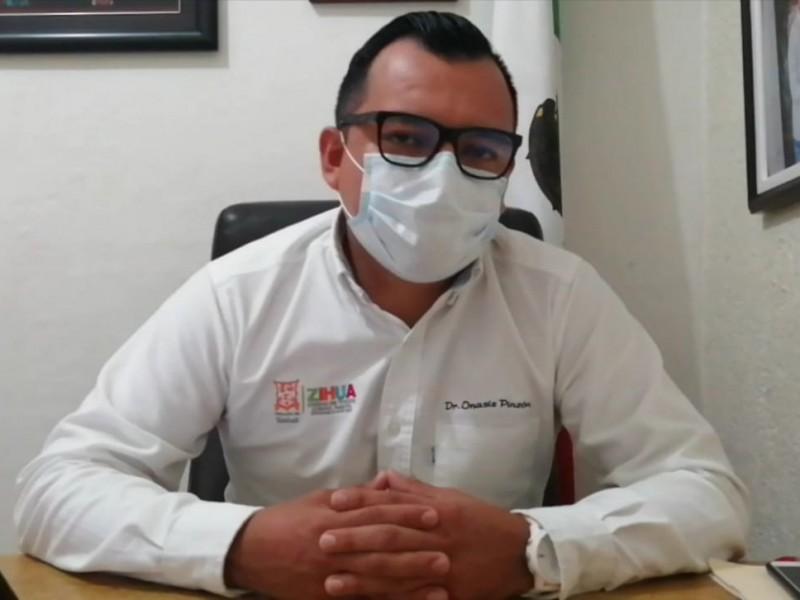 Ha disminuido un 60% el índice de contagios en Zihuatanejo