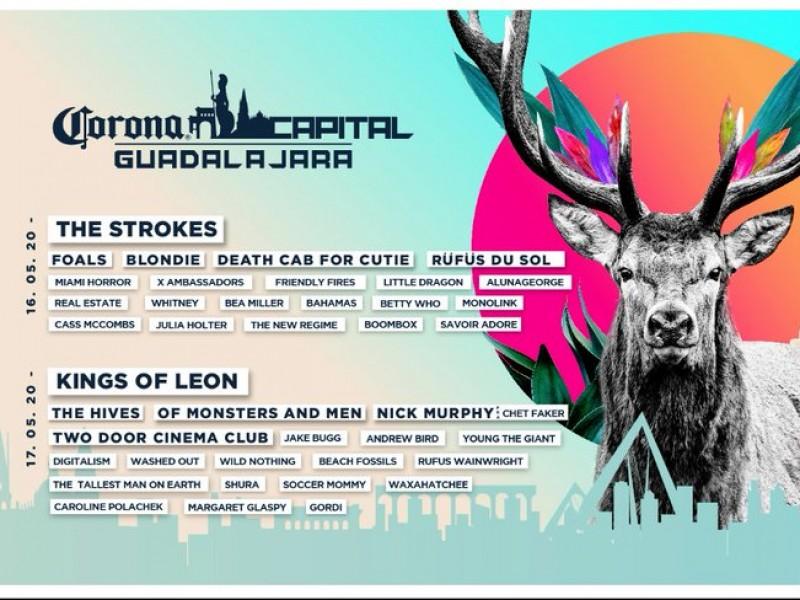¡Habemus cartel del Corona Capital Guadalajara 2020!