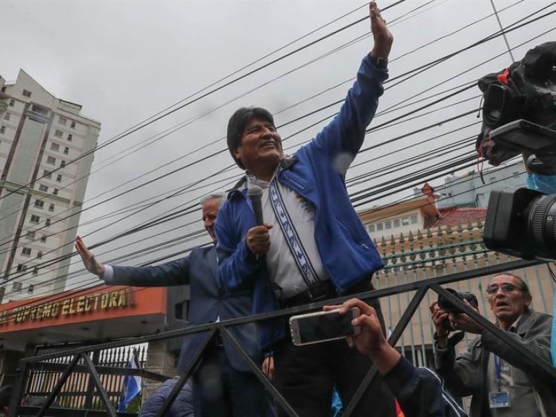 Habilita corte candidatura de Evo Morales