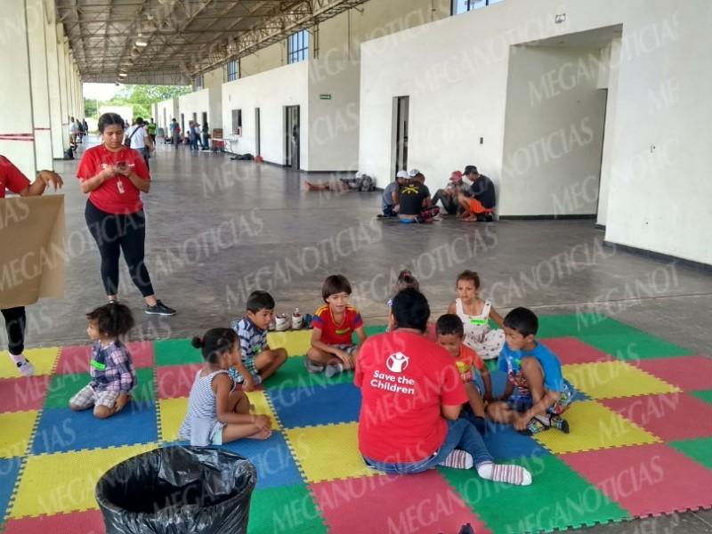 Habilitan albergue para la Caravana de Migrantes