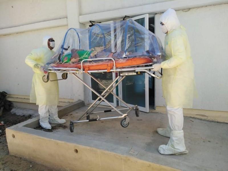 Habilitan Centro COVID en el Hospital Comunitario de Álamos