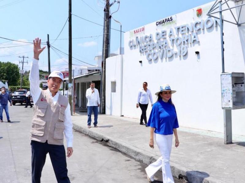 Habilitan clínica en Tapachula ante Covid-19
