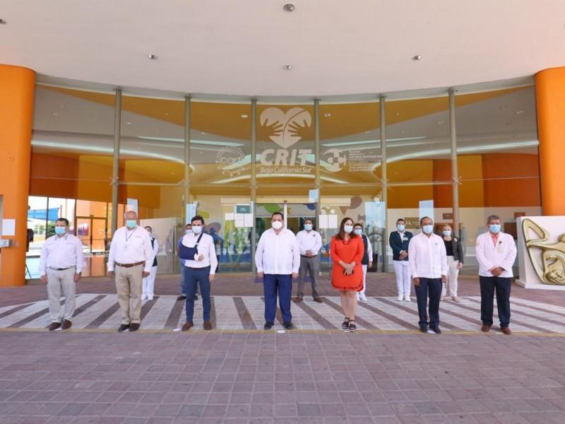 Habilitan CRIT La Paz como hospital Covid9