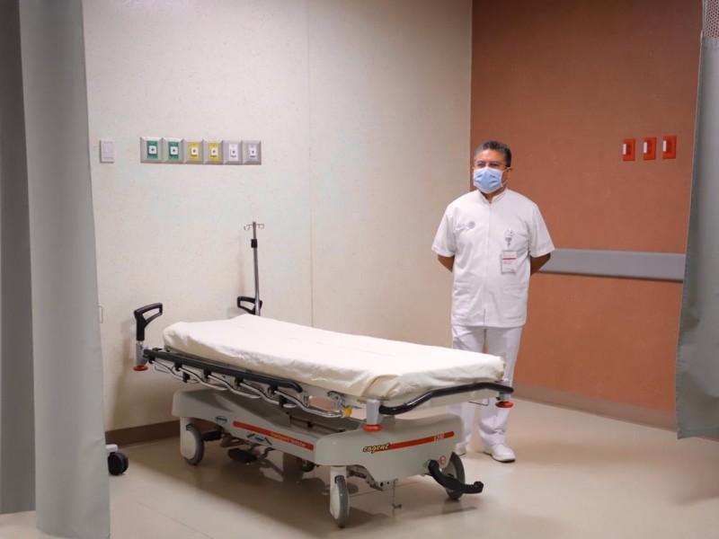 Habilitan Hospital Oaxaqueño ante casos graves de COVID-19