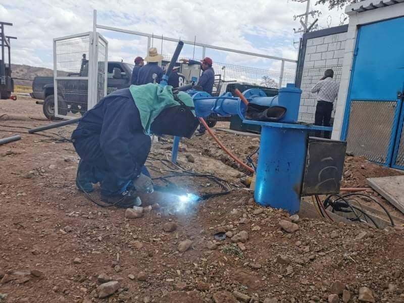 Habilitan pozos particulares para extracción de agua
