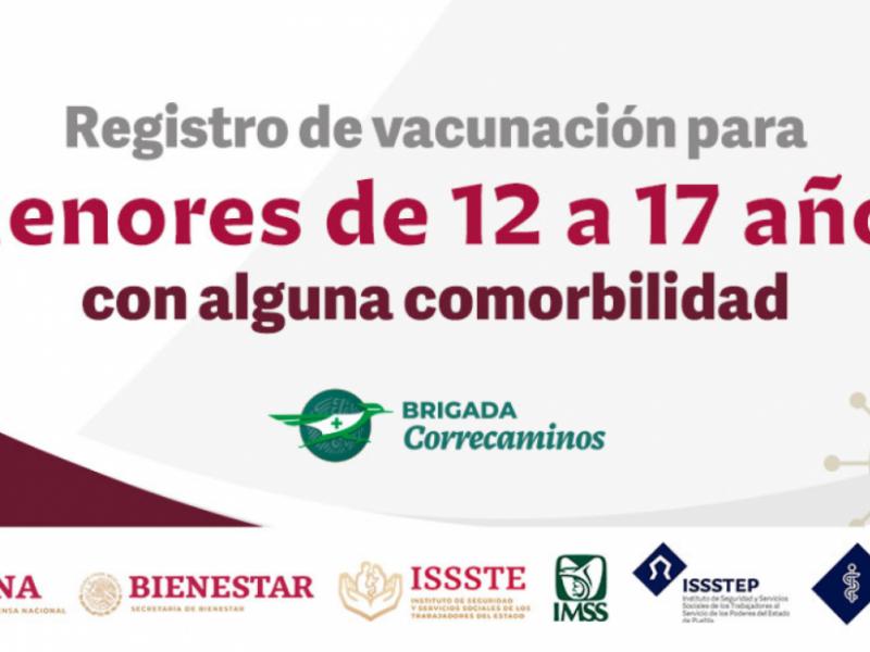 Habilitan registro para vacunar contra COVID19 a menores de edad