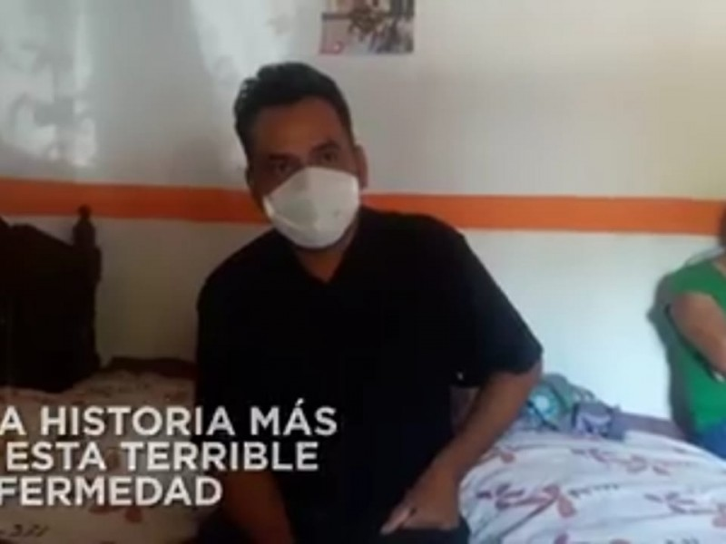 Habitante de Jala relata trágica historia COVID-19 en su familia
