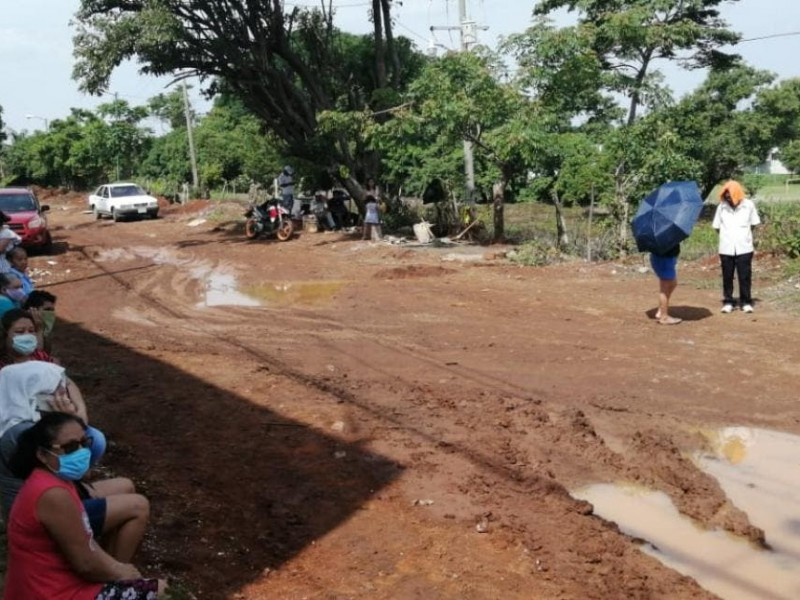 Habitantes contra proyecto sanitario en Tapachula
