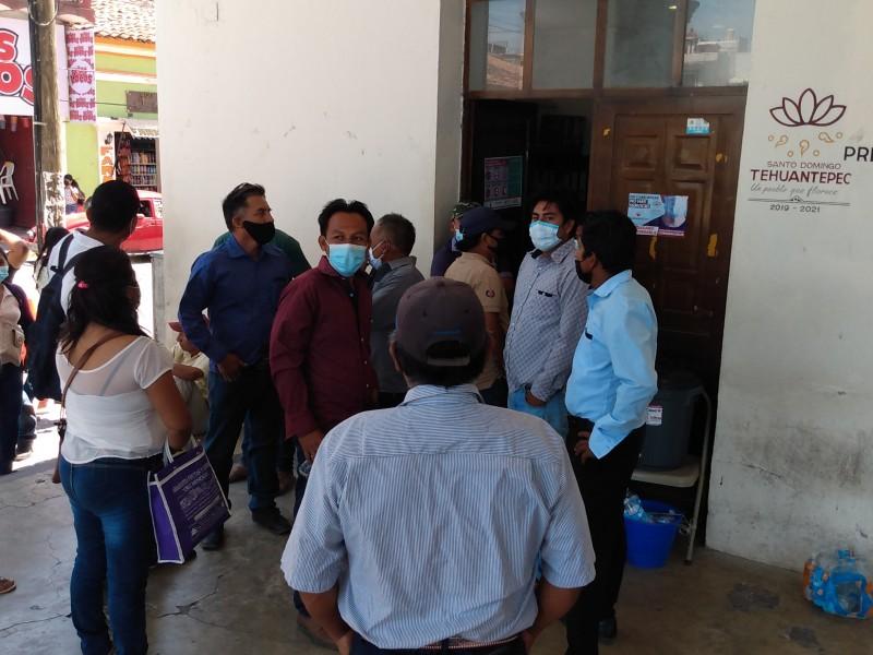 Habitantes de Cajón de Piedra exigen transparencia en elecciones