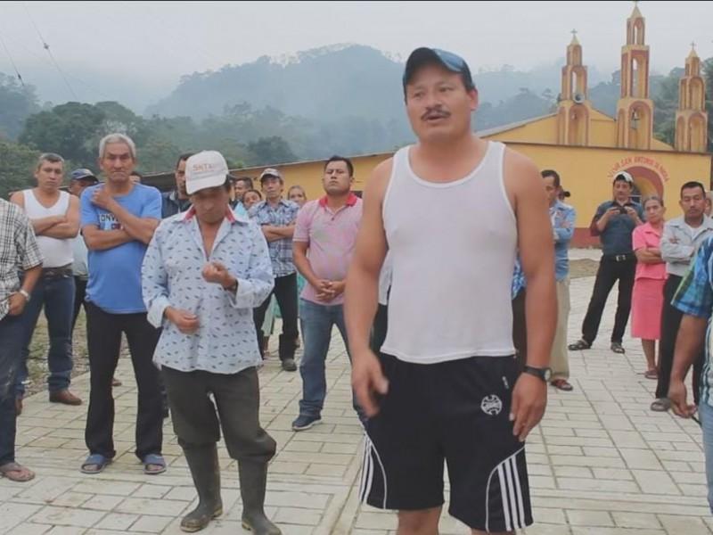 Habitantes de Chapultenango demandan apoyo para comunidades