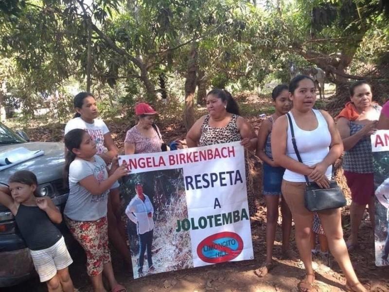 Habitantes de Jolotemba denuncian privatización de playa