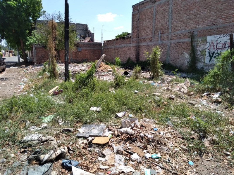Habitantes de la Romanillo se quejan de vivir en abandono