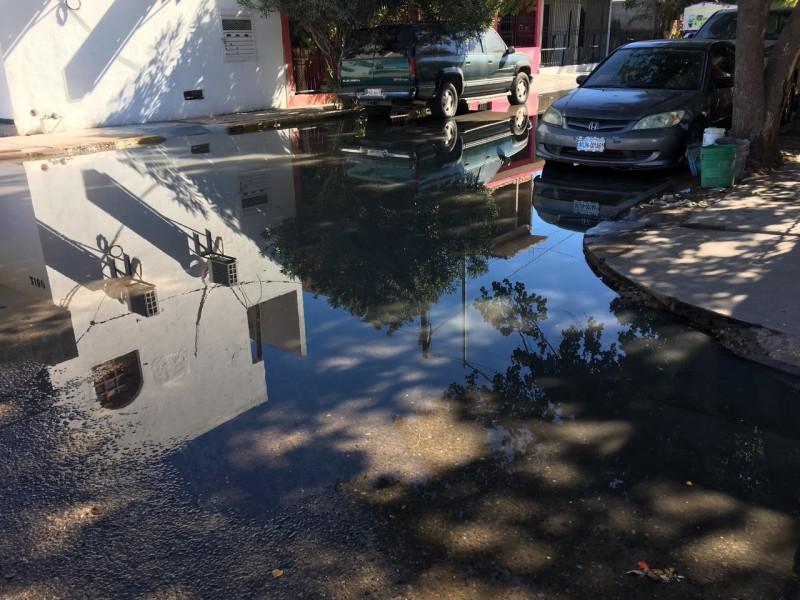 Pese a reclamos, Ayuntamiento no responde a brotes aguas negras